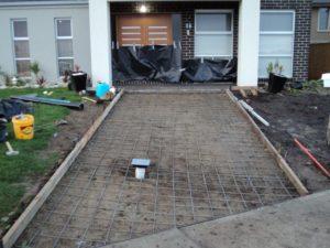 concrete driveway preparation melbourne